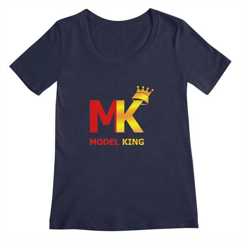 Model King Women's Scoopneck by 2Dyzain's Artist Shop