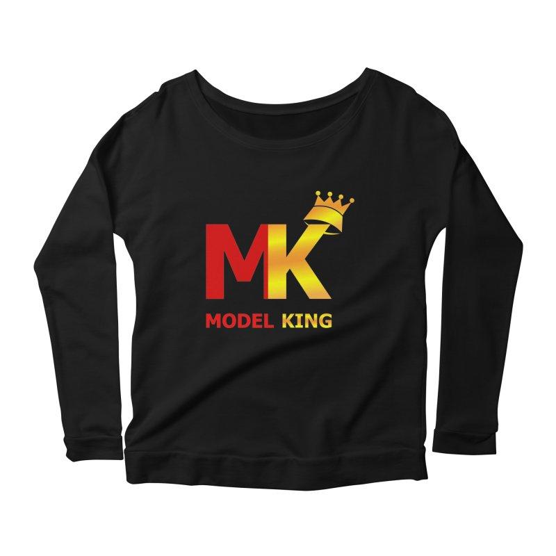 Model King Women's Longsleeve Scoopneck  by 2Dyzain's Artist Shop