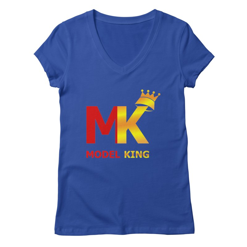 Model King Women's V-Neck by 2Dyzain's Artist Shop