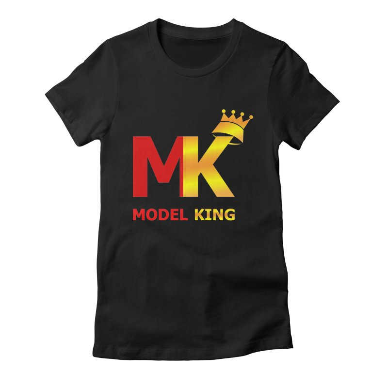 Model King Women's Fitted T-Shirt by 2Dyzain's Artist Shop