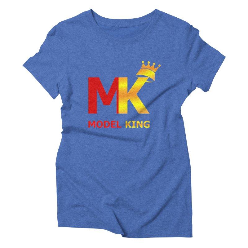 Model King Women's Triblend T-shirt by 2Dyzain's Artist Shop