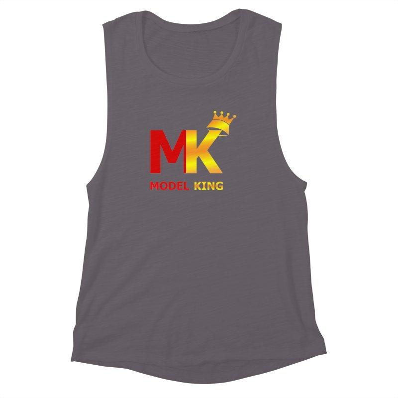 Model King Women's Muscle Tank by 2Dyzain's Artist Shop