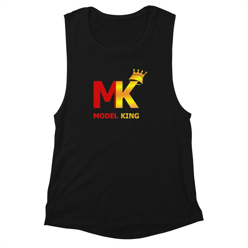 Model King Women's Muscle Tank by 2Dyzain's Artist Shop