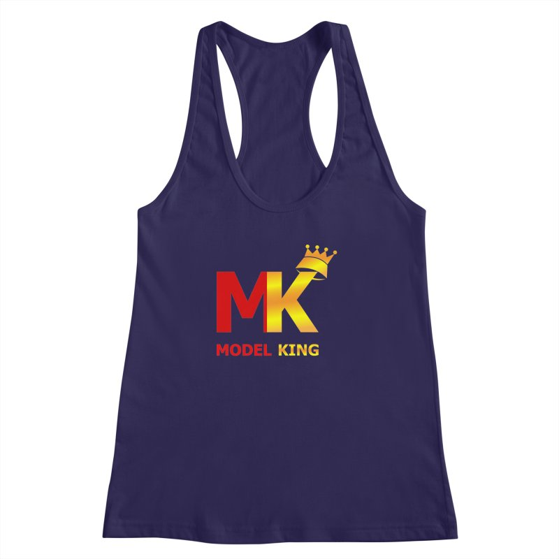 Model King Women's Racerback Tank by 2Dyzain's Artist Shop