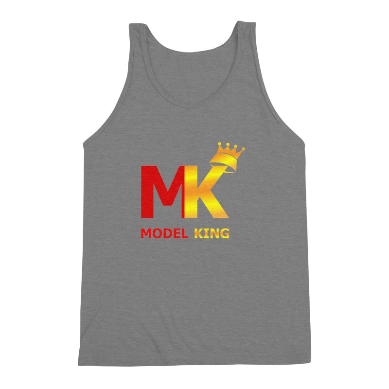Model King Men's Triblend Tank by 2Dyzain's Artist Shop