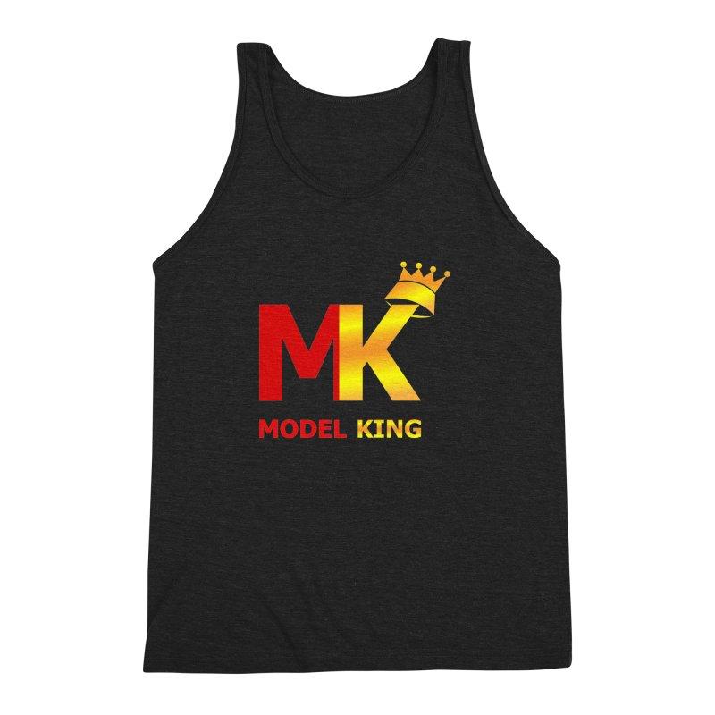 Model King Men's Triblend Tank by 2Dyzain's Artist Shop