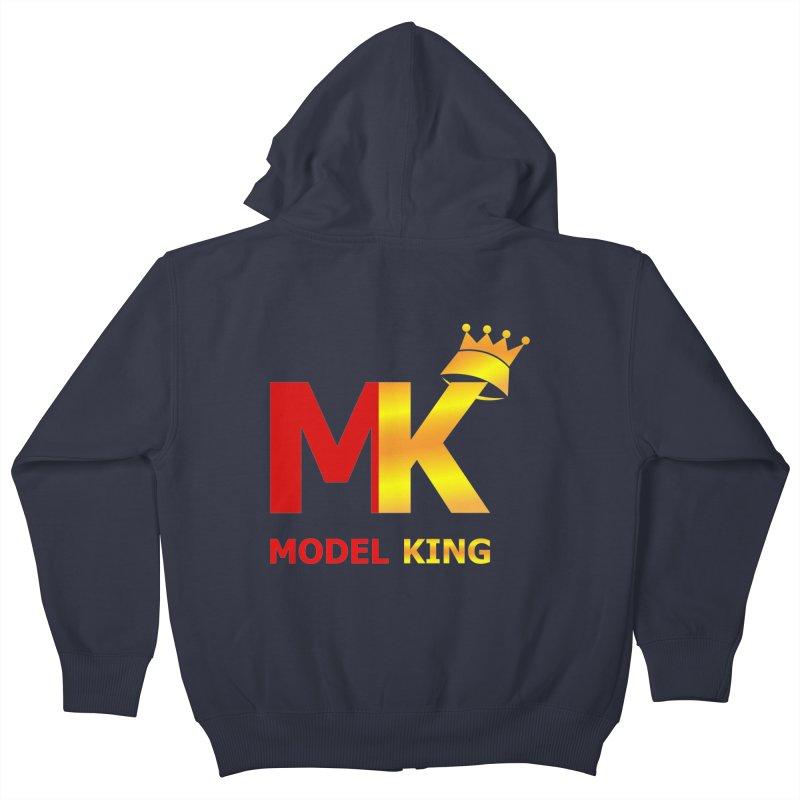 Model King Kids Zip-Up Hoody by 2Dyzain's Artist Shop