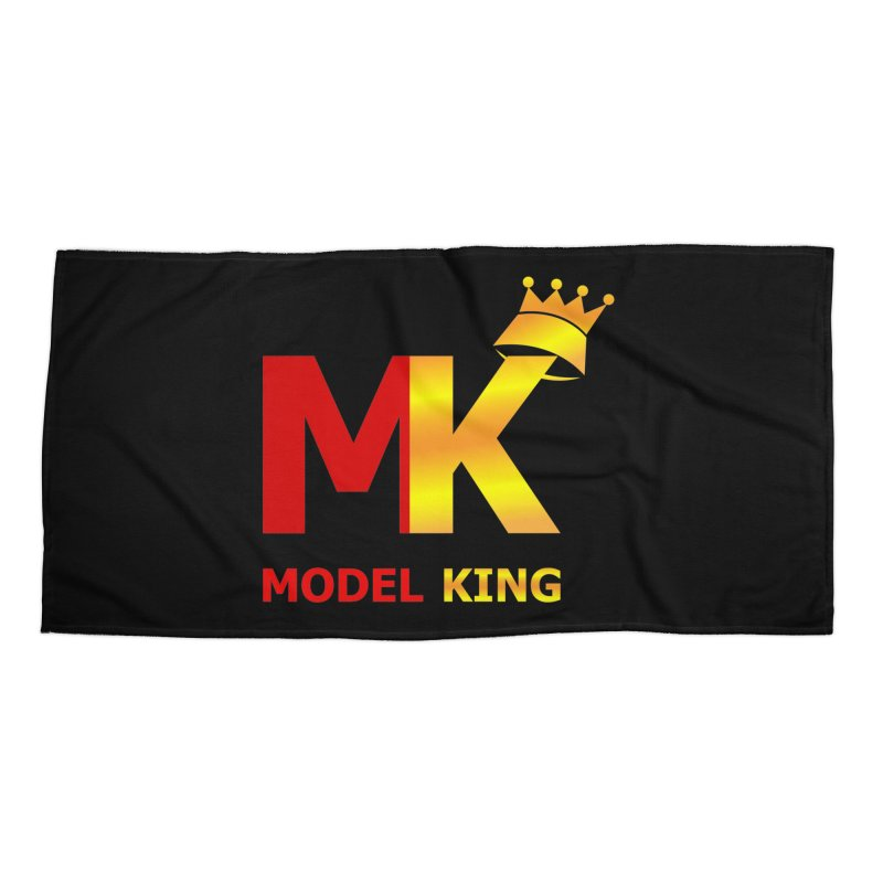 Model King Accessories Beach Towel by 2Dyzain's Artist Shop