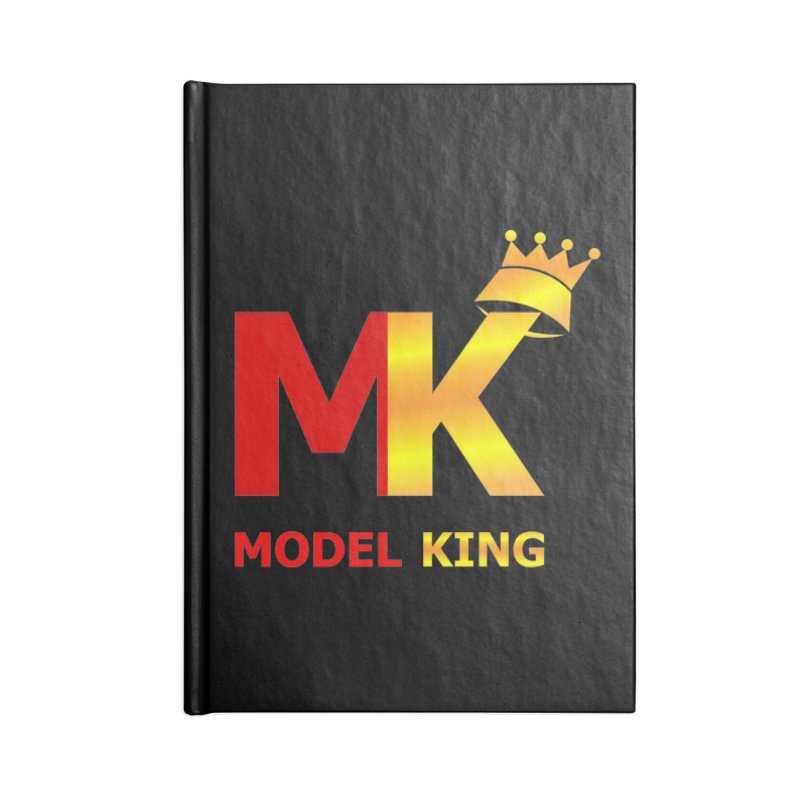 Model King Accessories Notebook by 2Dyzain's Artist Shop