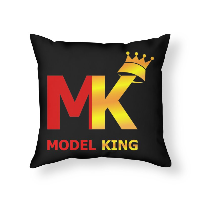 Model King Home Throw Pillow by 2Dyzain's Artist Shop