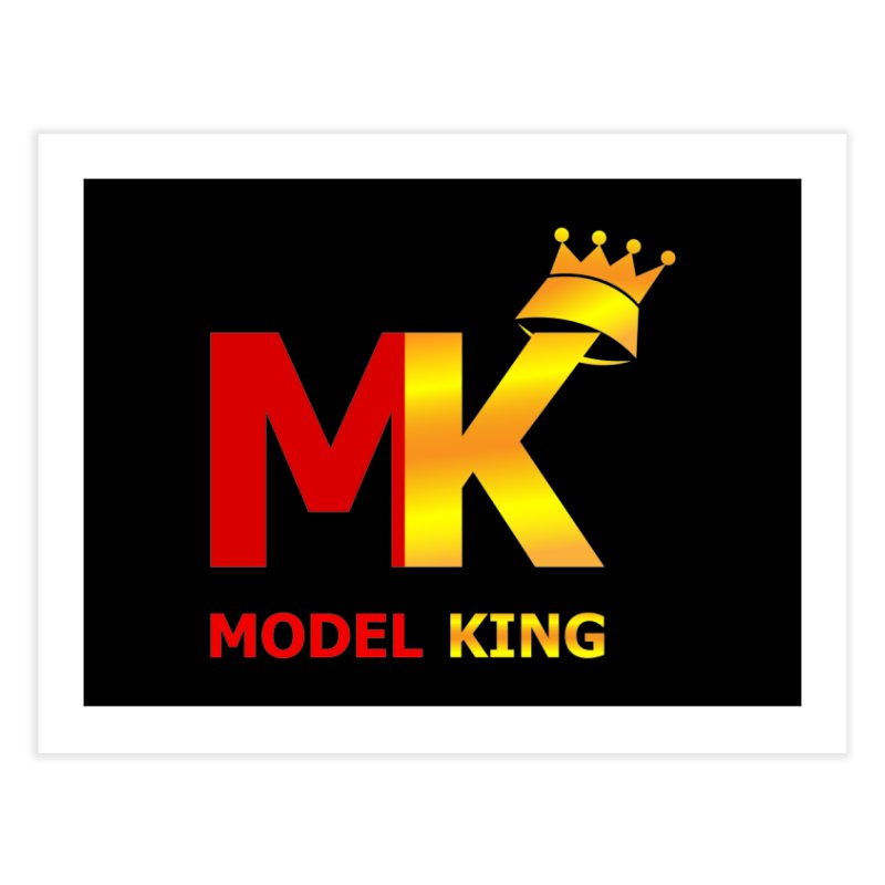 Model King Home Fine Art Print by 2Dyzain's Artist Shop