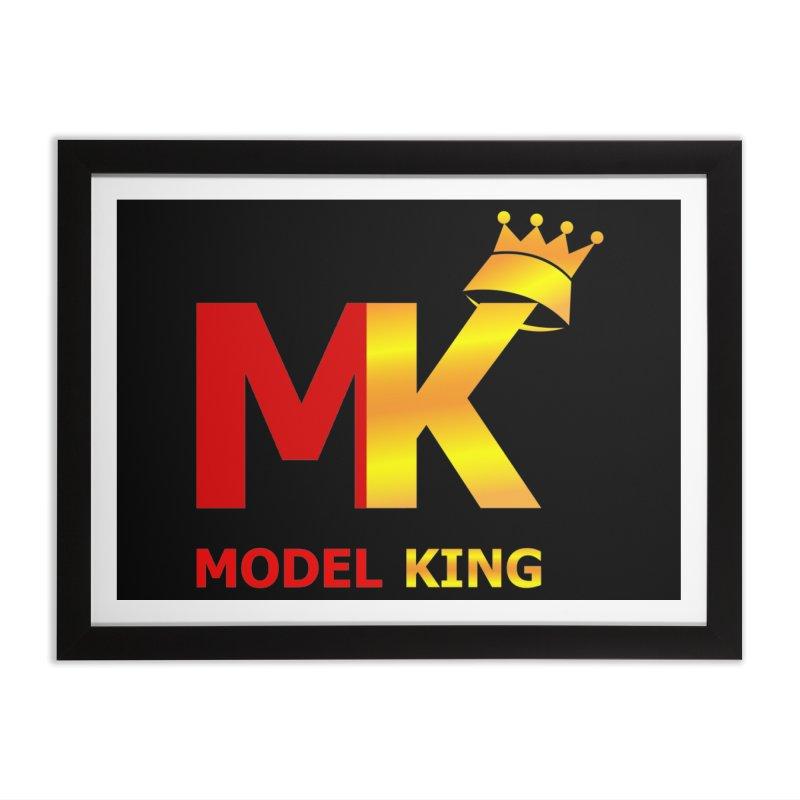 Model King Home Framed Fine Art Print by 2Dyzain's Artist Shop