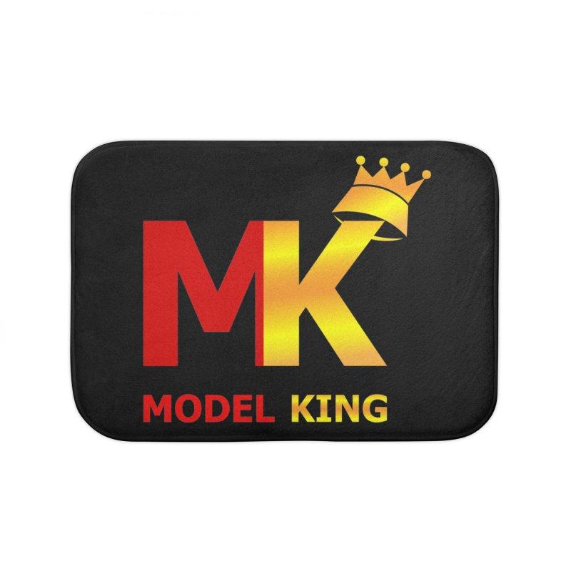 Model King Home Bath Mat by 2Dyzain's Artist Shop
