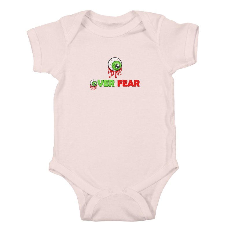 Over Fear Kids Baby Bodysuit by 2Dyzain's Artist Shop