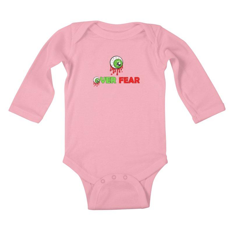 Over Fear Kids Baby Longsleeve Bodysuit by 2Dyzain's Artist Shop