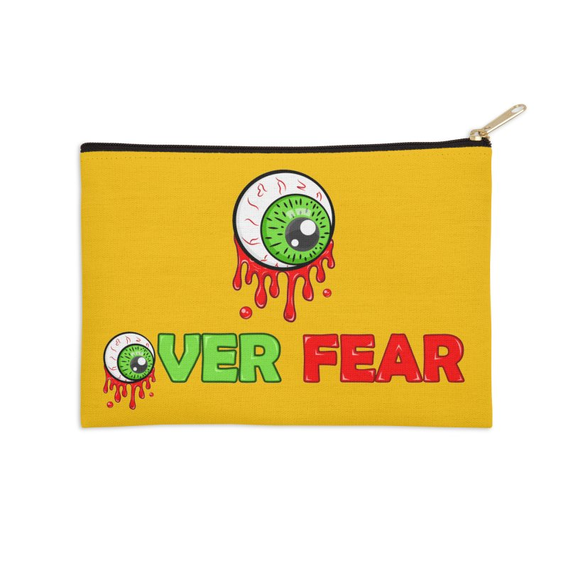 Over Fear Accessories Zip Pouch by 2Dyzain's Artist Shop