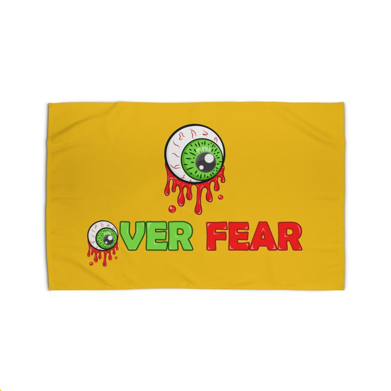 Over Fear Home Rug by 2Dyzain's Artist Shop