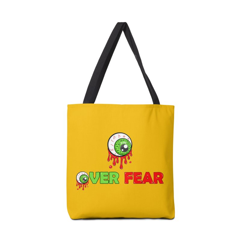 Over Fear Accessories Bag by 2Dyzain's Artist Shop