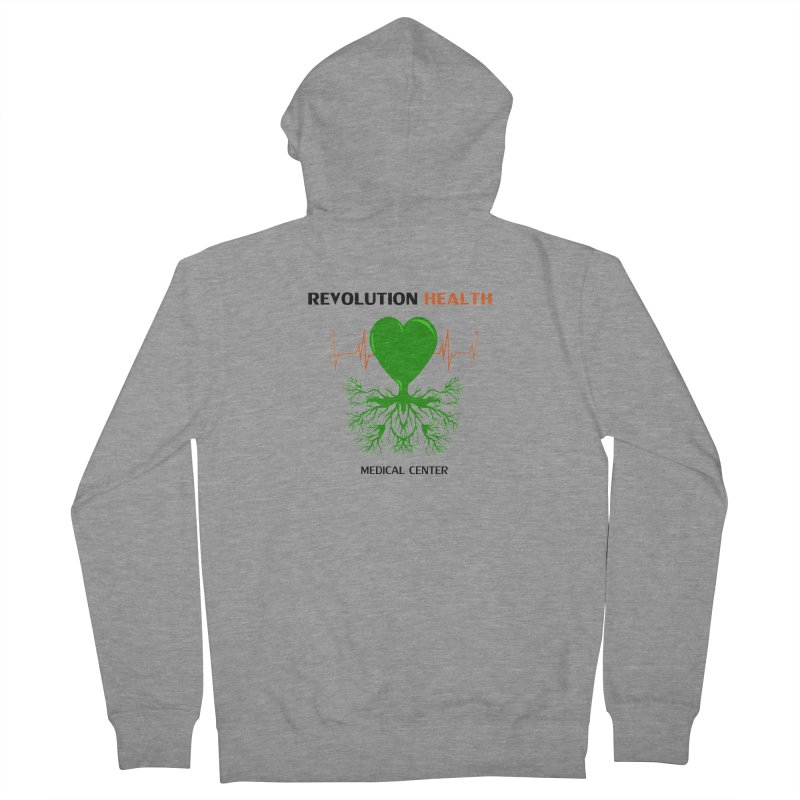 Revolution Health Medical Center Men's Zip-Up Hoody by 2Dyzain's Artist Shop