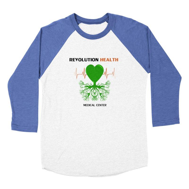 Revolution Health Medical Center Men's Baseball Triblend T-Shirt by 2Dyzain's Artist Shop