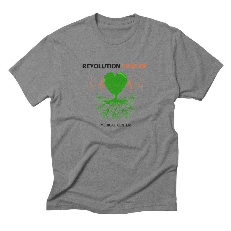 Revolution Health Medical Center Men's Triblend T-shirt by 2Dyzain's Artist Shop