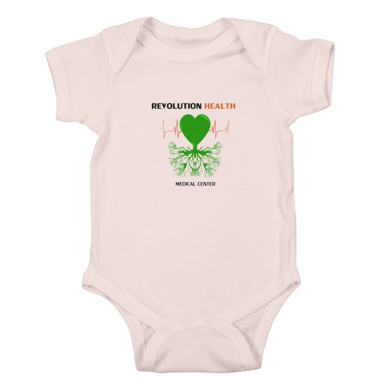Revolution Health Medical Center Kids Baby Bodysuit by 2Dyzain's Artist Shop
