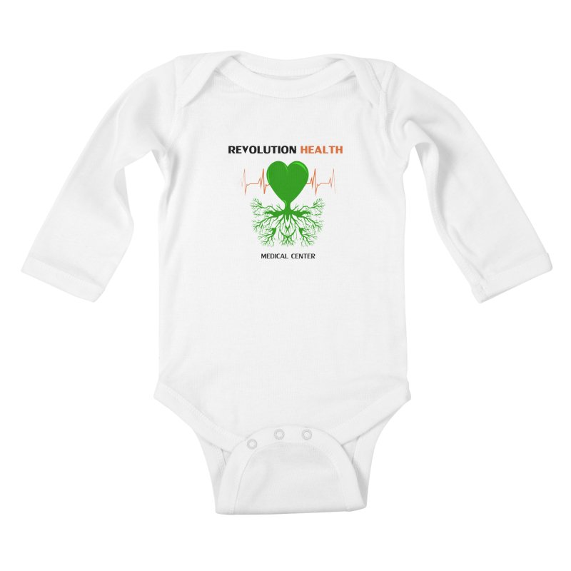 Revolution Health Medical Center Kids Baby Longsleeve Bodysuit by 2Dyzain's Artist Shop