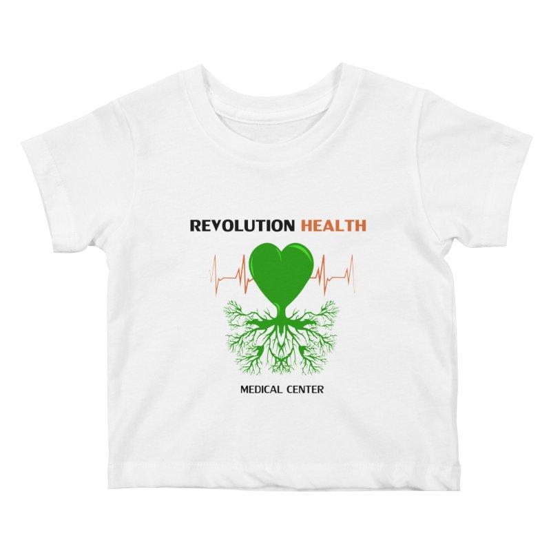 Revolution Health Medical Center Kids Baby T-Shirt by 2Dyzain's Artist Shop