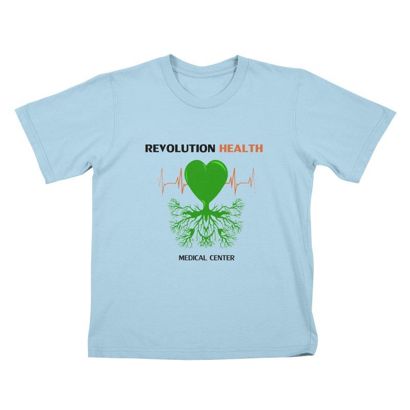 Revolution Health Medical Center Kids T-Shirt by 2Dyzain's Artist Shop