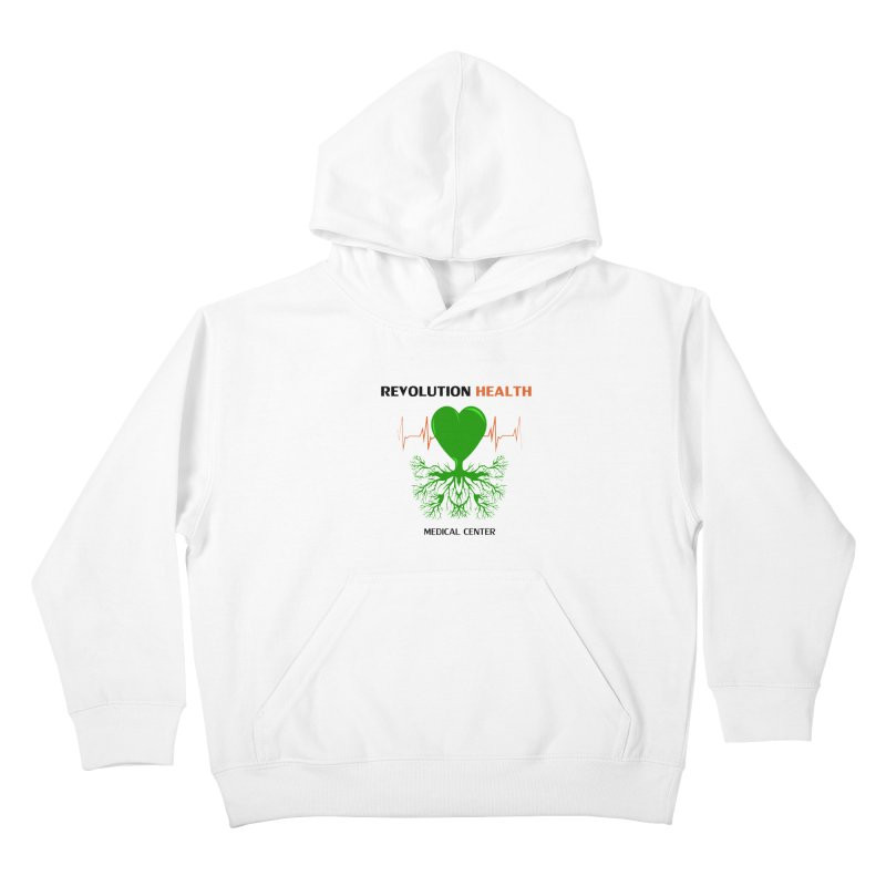 Revolution Health Medical Center Kids Pullover Hoody by 2Dyzain's Artist Shop