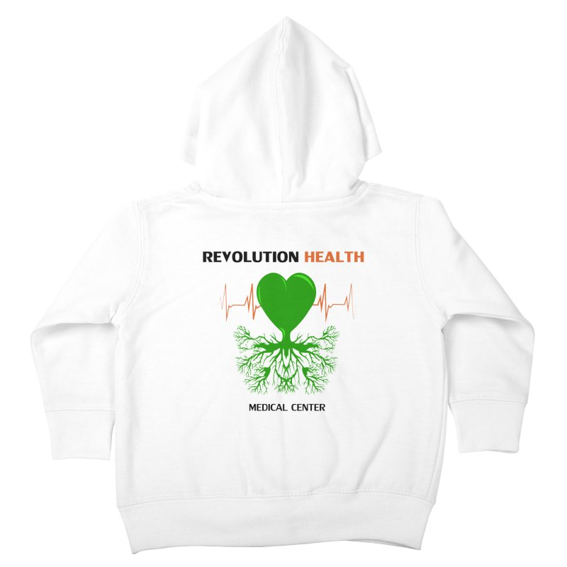 Revolution Health Medical Center Kids Toddler Zip-Up Hoody by 2Dyzain's Artist Shop