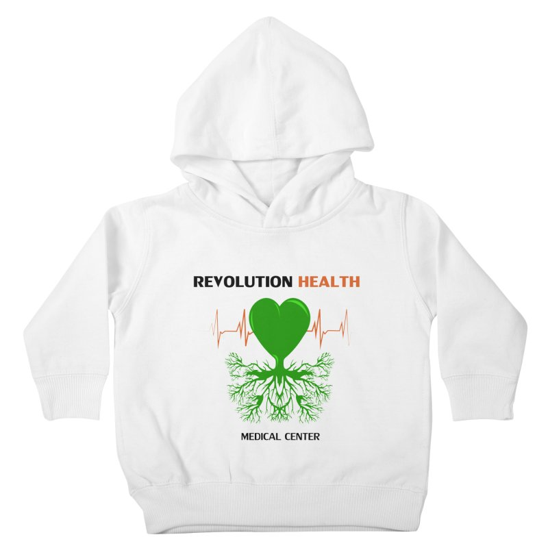 Revolution Health Medical Center Kids Toddler Pullover Hoody by 2Dyzain's Artist Shop