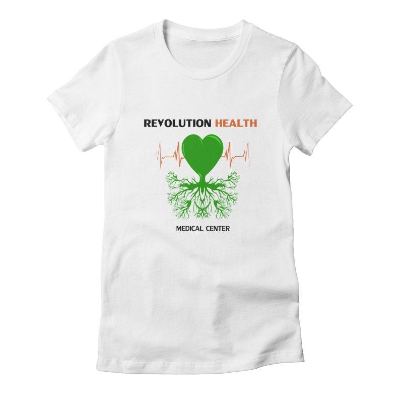 Revolution Health Medical Center Women's Fitted T-Shirt by 2Dyzain's Artist Shop