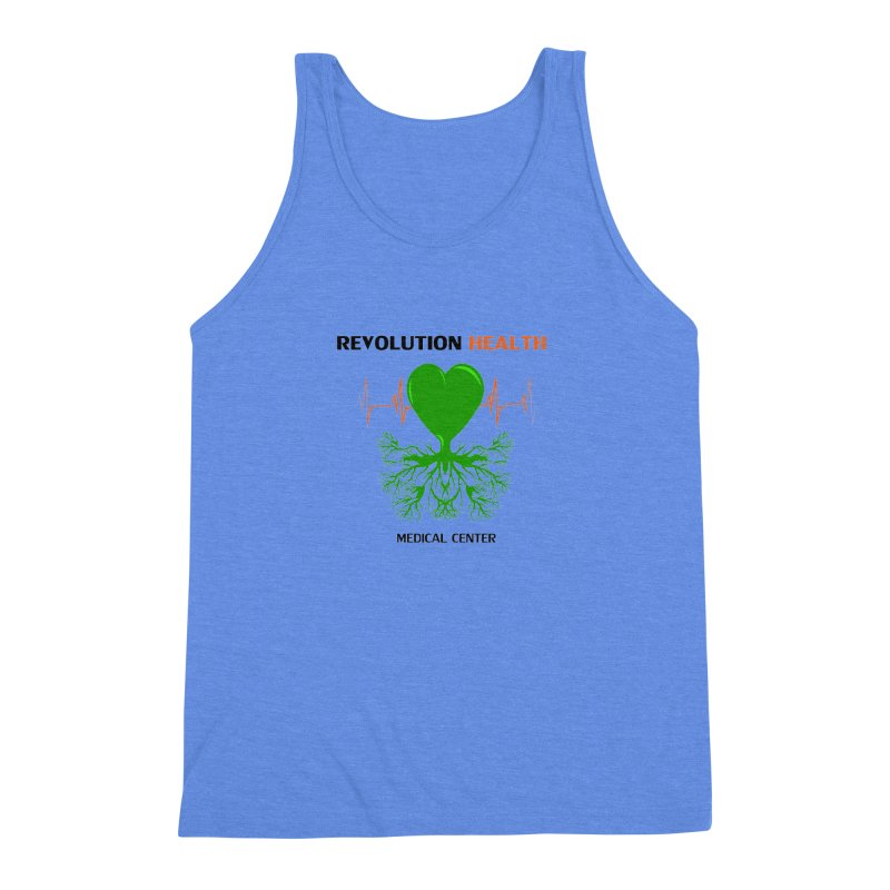 Revolution Health Medical Center Men's Triblend Tank by 2Dyzain's Artist Shop