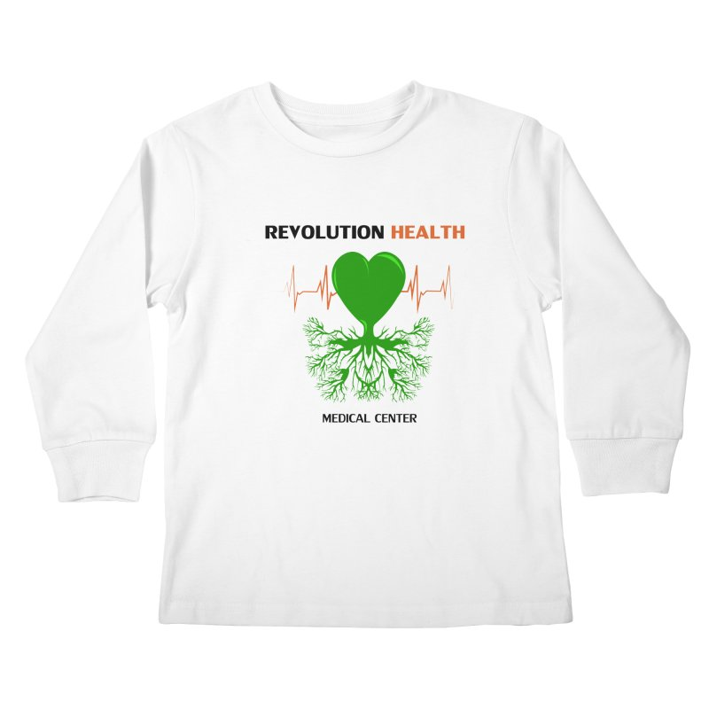 Revolution Health Medical Center Kids Longsleeve T-Shirt by 2Dyzain's Artist Shop