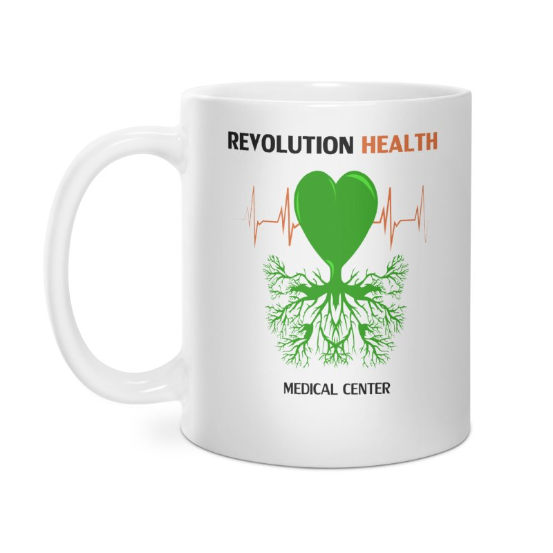 Revolution Health Medical Center Accessories Mug by 2Dyzain's Artist Shop