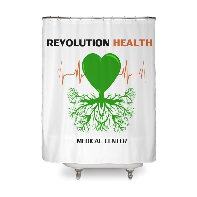 Revolution Health Medical Center Home Shower Curtain by 2Dyzain's Artist Shop