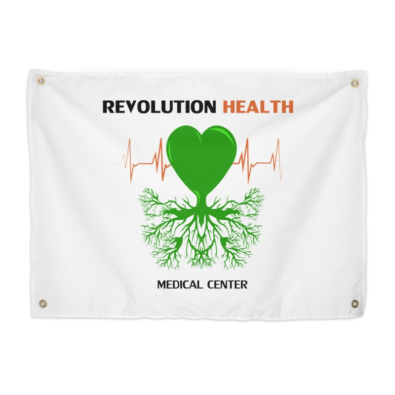 Revolution Health Medical Center Home Tapestry by 2Dyzain's Artist Shop