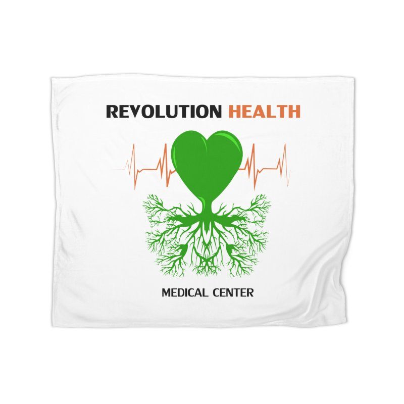 Revolution Health Medical Center Home Blanket by 2Dyzain's Artist Shop