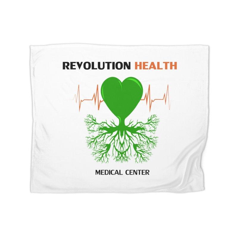 Revolution Health Medical Center Home Blanket by 2Dyzain's Artist Shop
