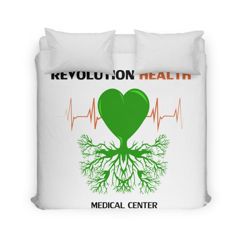 Revolution Health Medical Center Home Duvet by 2Dyzain's Artist Shop
