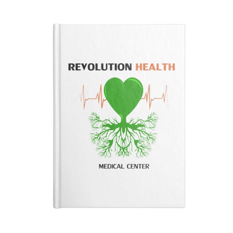 Revolution Health Medical Center Accessories Notebook by 2Dyzain's Artist Shop