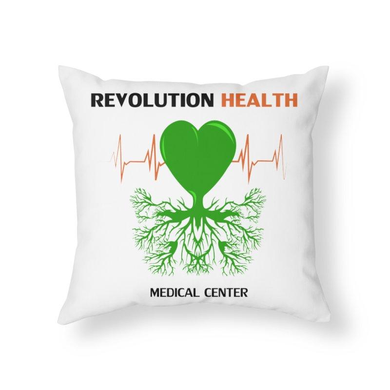 Revolution Health Medical Center Home Throw Pillow by 2Dyzain's Artist Shop