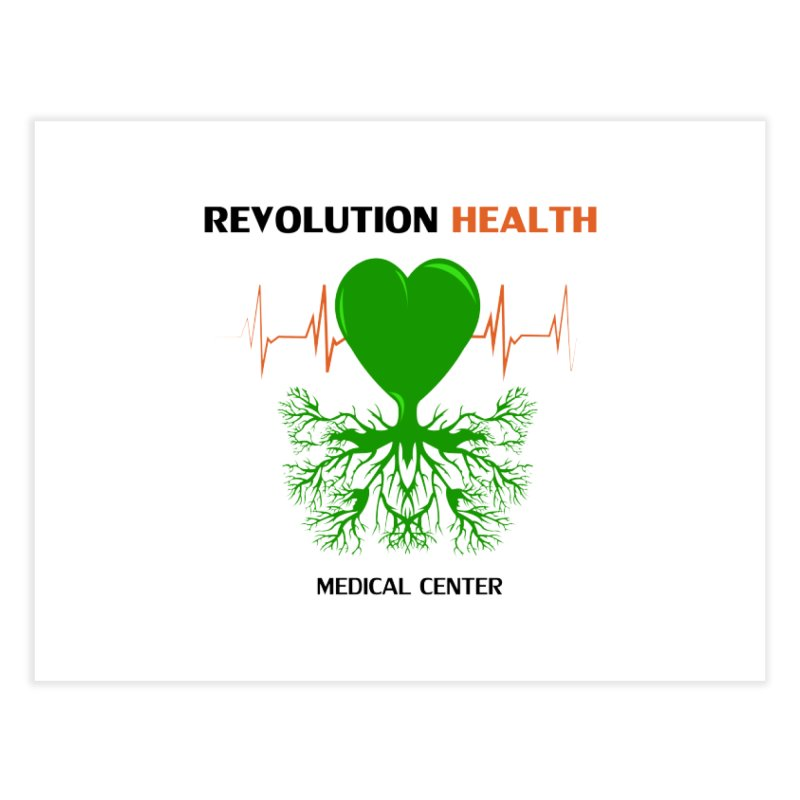 Revolution Health Medical Center Home Fine Art Print by 2Dyzain's Artist Shop