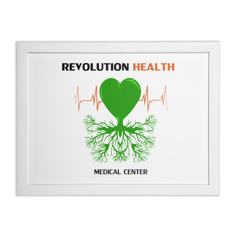 Revolution Health Medical Center Home Framed Fine Art Print by 2Dyzain's Artist Shop
