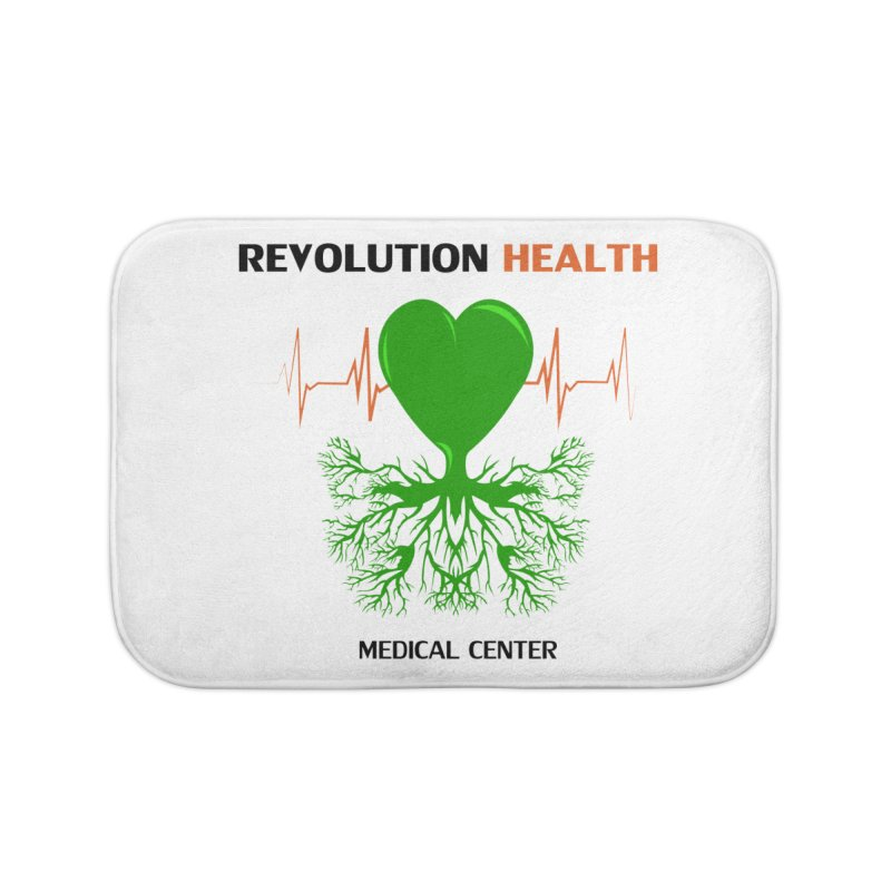 Revolution Health Medical Center Home Bath Mat by 2Dyzain's Artist Shop