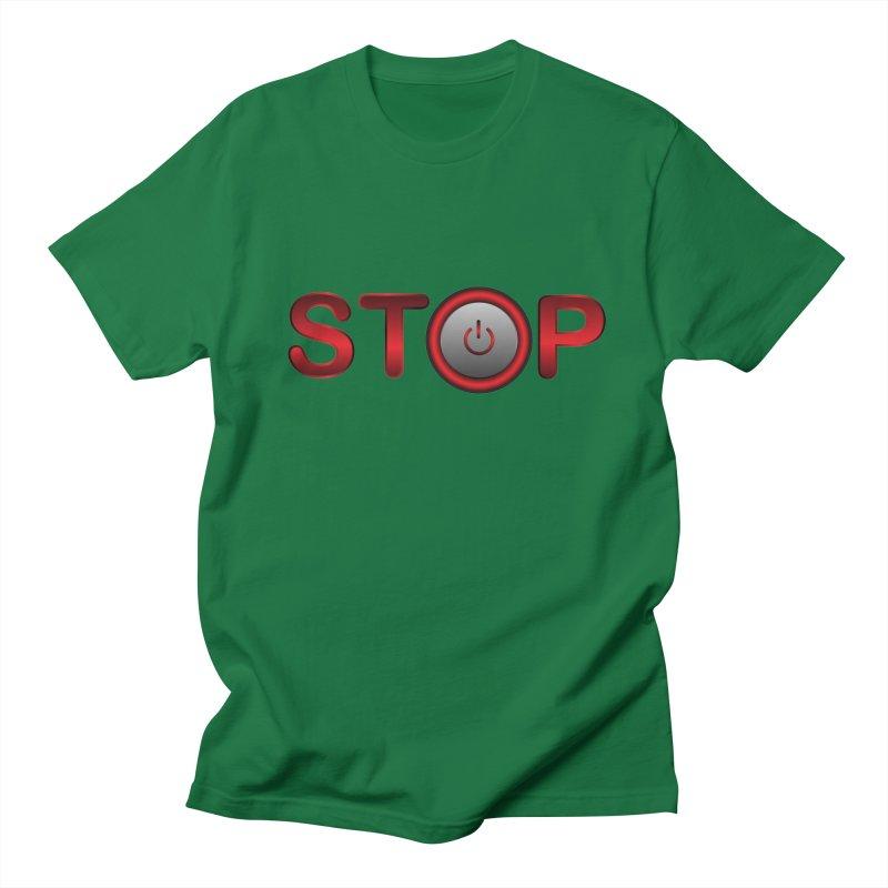 STOP Men's Lounge Pants by 2Dyzain's Artist Shop