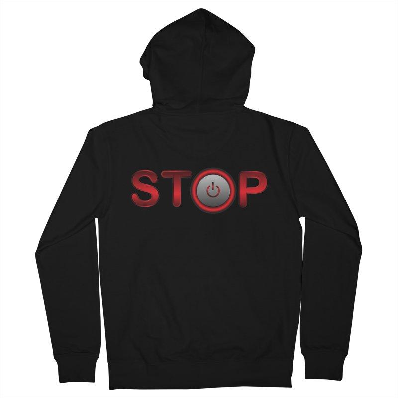 STOP Women's Zip-Up Hoody by 2Dyzain's Artist Shop