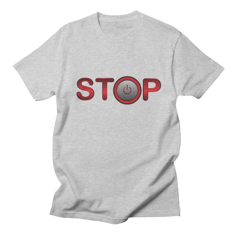 STOP Women's Unisex T-Shirt by 2Dyzain's Artist Shop