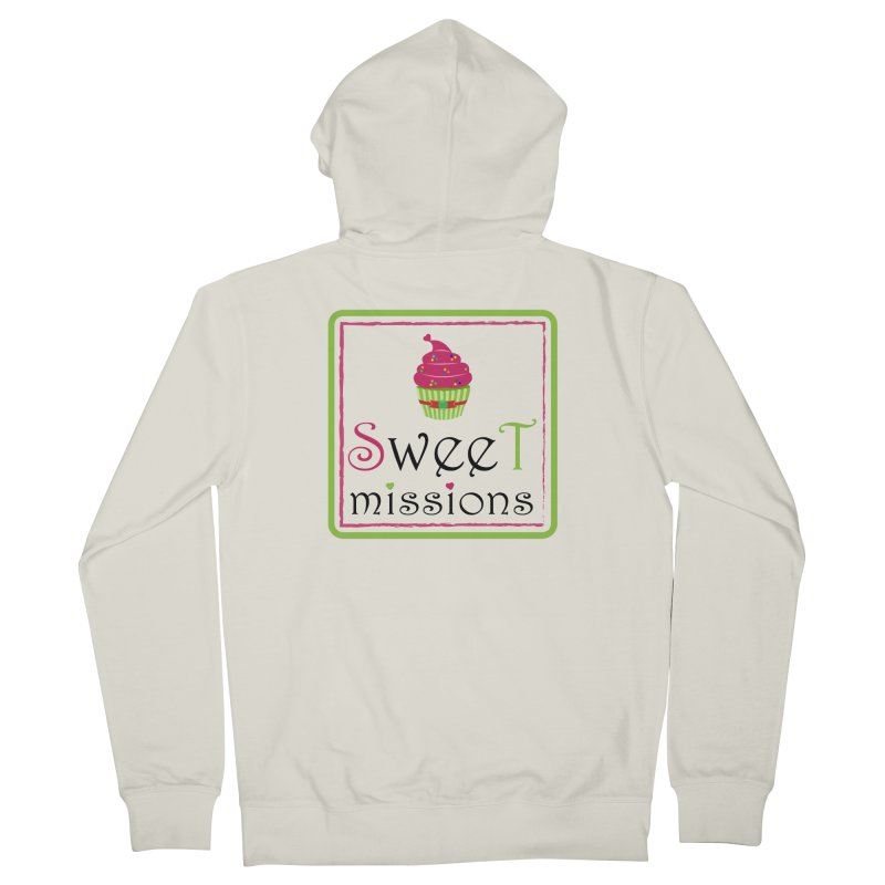 Sweet Missions Men's Zip-Up Hoody by 2Dyzain's Artist Shop